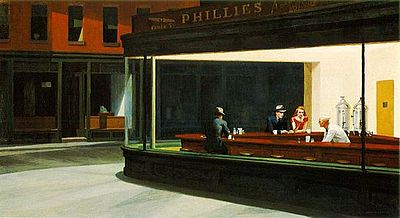"George Bush, ""Nighthawks"""