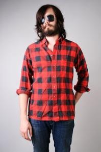 Hipster lumber jack flannel 42
