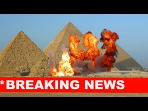 Egypt's Armed Forces blow up pyramids with explosives